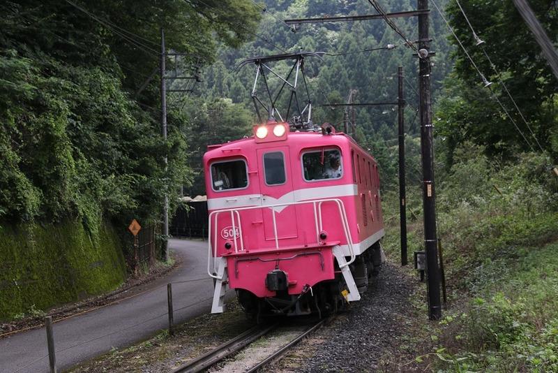 3 鉱石列車 504号機 影森近くにて その7