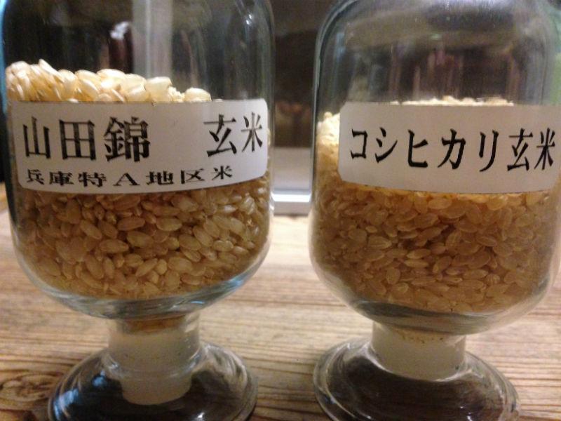 食用米と酒米
