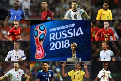 2018年ワールドカップ・ロシア大会が始まりました・・・。