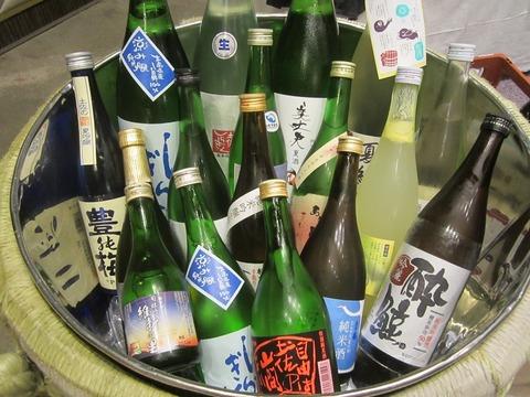 昨夜は高知の地酒を250名のお客様にサービスしてきました。