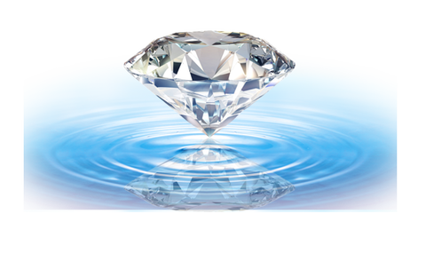 ダイヤと水