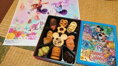 東京ディズニーリゾート35周年 クッキー