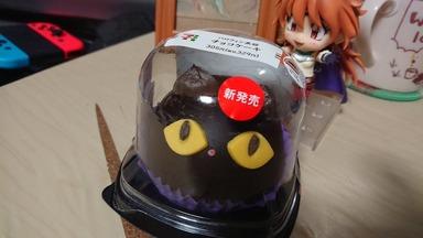 猫型ケーキ