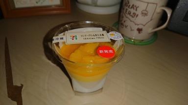 マンゴープリン杏仁豆腐