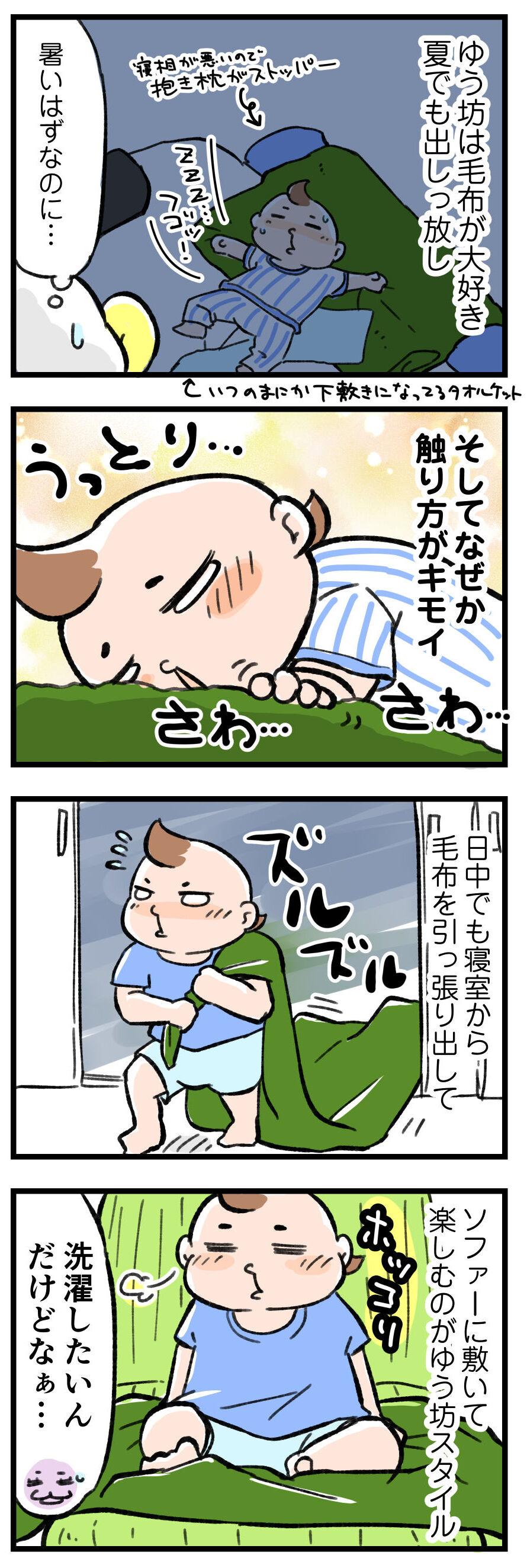 の 毛布 ライナス