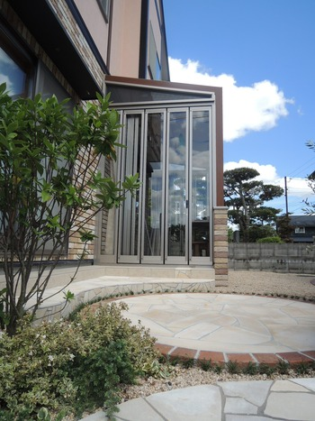 ガーデンルームココマの完成