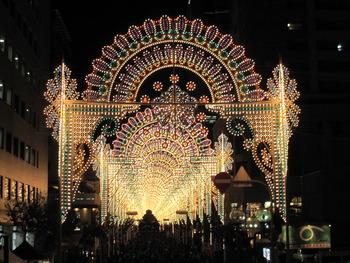 神戸ルミナリエの写真
