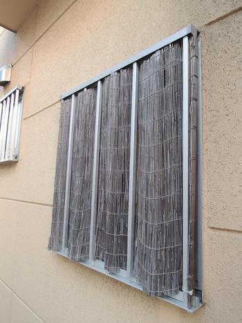 お風呂の窓の目隠し