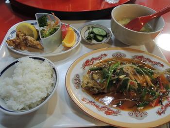 防府市 お勧めの中華料理 日替わりランチ