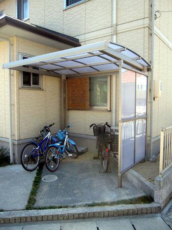 自転車置き場キューブパーク