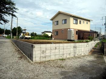 山口県土留めブロック工事