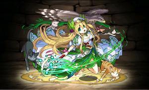 パズドラ 緑聖の豊麗神・フレイヤ