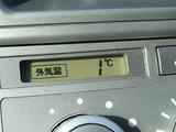 しかし気温は1度