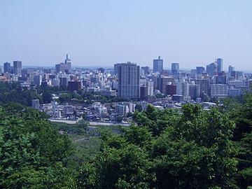 仙台の街並み