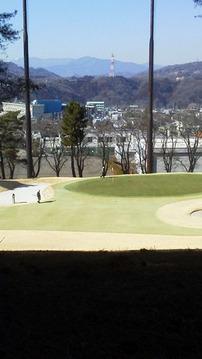 初ゴルフ・・・。ではない