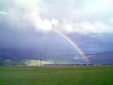 虹の先っぽは何が見えるんだろう