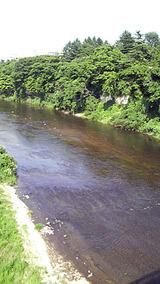 広瀬川の水