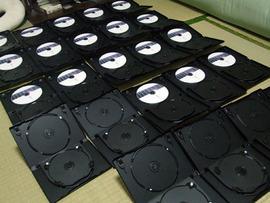 DVD作成中