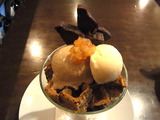 チョコレートとオレンジのパフェ6