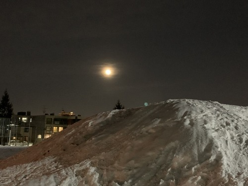 ラスト満月