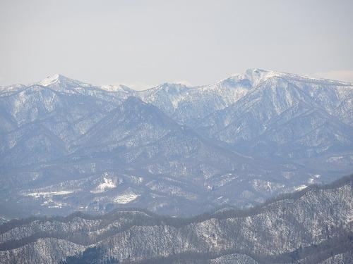 札幌岳 稜線