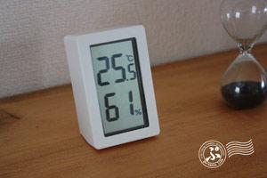 無印_温湿度計