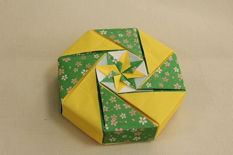 すべての折り紙 折り紙 プレゼント 箱 : ハンドメイド、趣味 ...