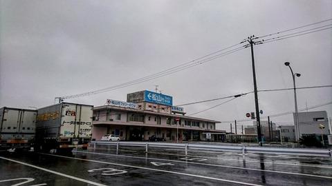 広島港松山行フェリー乗り場