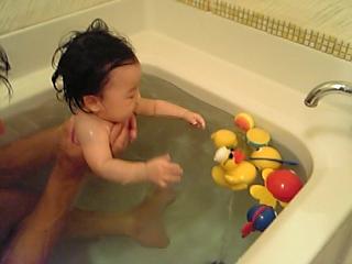 お風呂モモ2