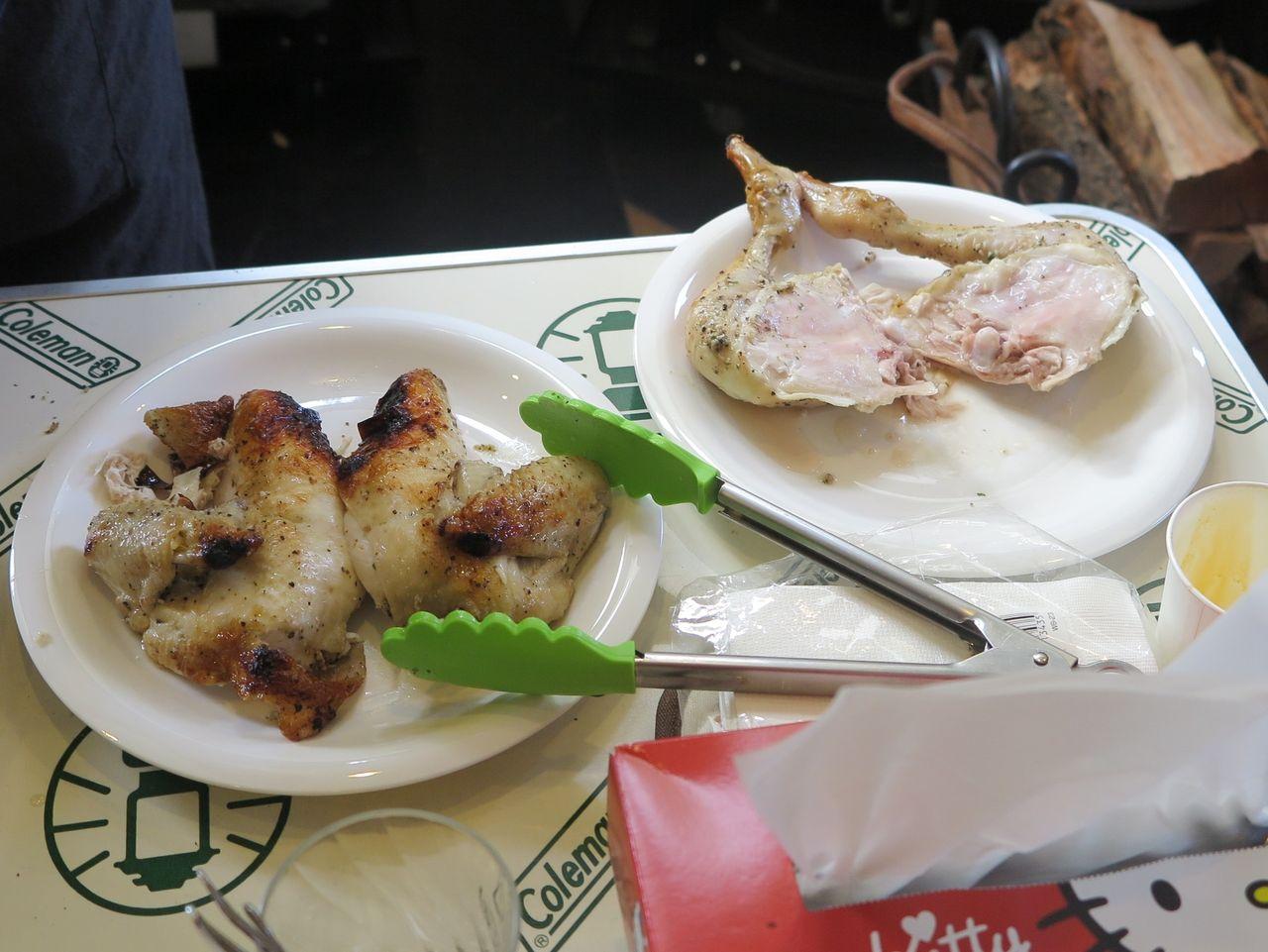 チキン解体