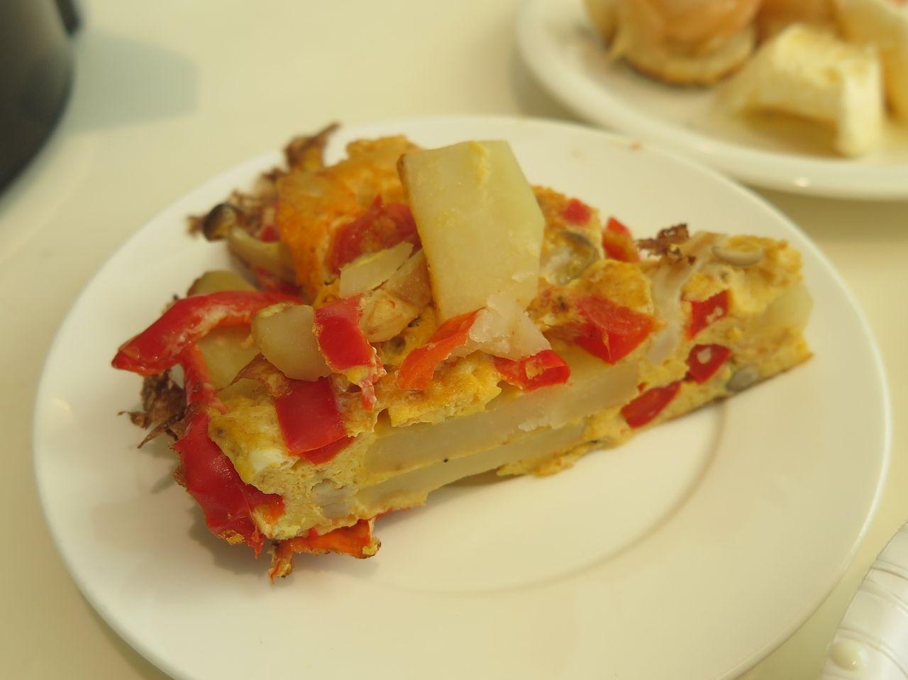 彩り野菜オムレツ