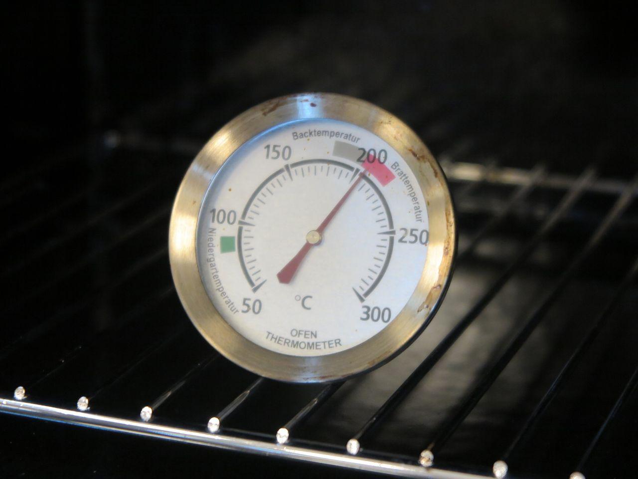 オーブン温度