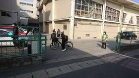 土合中20180326あいさつ運動3