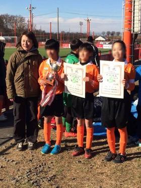 神田小20180112サッカー大会1