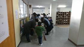 土合中20180113学校公開1
