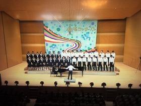 土合中20181031合唱コンクール5