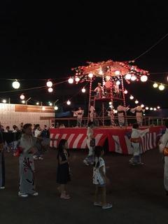 大久保小20180810五関踊り4