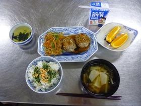 土合中20171102給食教室4