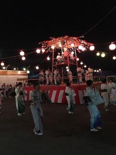 大久保小20180810五関踊り3