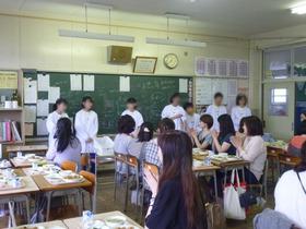 田島中20180620給食試食会3