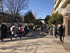 田島小20190314あいさつ運動2