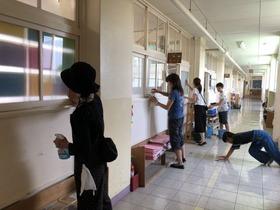 田島小201800723学期末清掃1