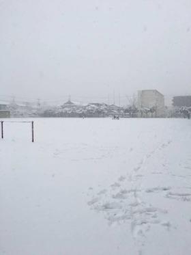 神田小20180123積雪3