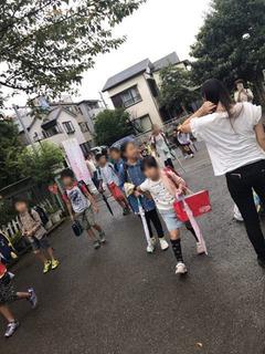 神田小20170904あいさつ運動2