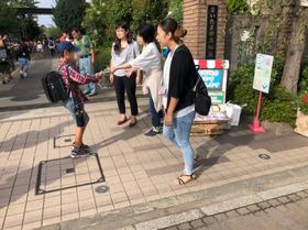 田島小20180914資源回収2