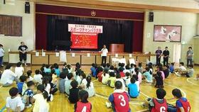 中島小20170623スポーツチャンバラ2