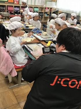 田島小20180309復興支援給食2