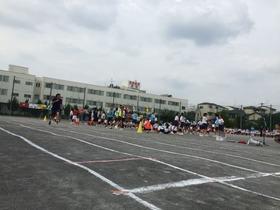 上大久保中20160917体育祭&バザー4