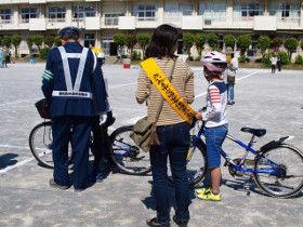 中島小自転車講習2