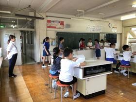 土合小20180913親子レク決め1